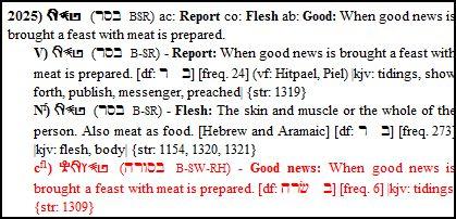 Basar Gospel Flesh