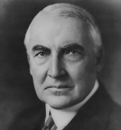 Warren G Harding 4