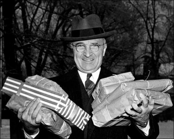 Xmas Harry Truman
